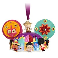disney christmas it's a small world ear hat ornament cody reynolds new with tag