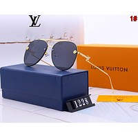 Louis Vuitton LV Hot Sale Ladies Shades Eyeglasses Glasses Sunglasses 1#