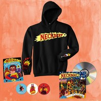 Life's Not Out To Get You Logo Hoodie + CD Bundle : HLR0 : MerchNOW - Your Favorite Band Merch, Music and More