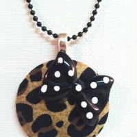 Sweet Animal Necklace from Kute As a Button Shop