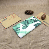 A few leaves mobile phone case for iPhone7 7S 7 7Splus iphone 5 5s SE 6 6s 6 plus 6s plus + Nice gift box 072601