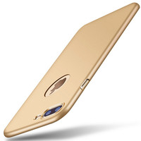 Gold Thinnest HARD Protection Phone Case For iPhone 7 7Plus