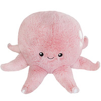Squishable Happy Octopus: An Adorable Fuzzy Plush to Snurfle and Squeeze!