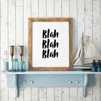 Typography Print, Inspirational Quote, Motivational Poster, Gift Ideas, Wall Art, Shabby Chic, Home Decor, Typography Poster - PT0211