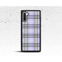 Lavender Plaid Phone Case for Samsung Galaxy S & Note