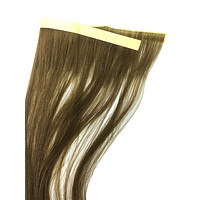 """6 Pcs Skin Weft Silky Straight Human Hair Extensions 14"""""""