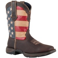 Durango Lady Rebel Brown/Flag in Stable / Work Boots