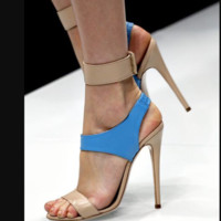 Hot style sexy stiletto sandals in hot color