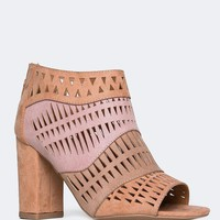 Chester-50 Laser Cut Booties