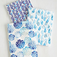 Dorm Decor Your Point of Blue Notebook Set by ModCloth