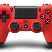 DualShock 4 Wireless Controller for PlayStation 4 - Magma Red [Import]