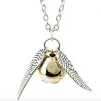 Harry Potter Silver And Copper Fashion Necklace Pendant