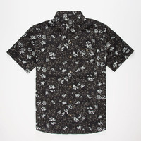 Volcom Donnie Woven Mens Shirt Black  In Sizes