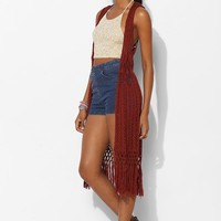 Staring At Stars Crochet Maxi Cardigan - Urban Outfitters