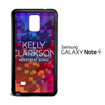 Heartbeat Song X0674 Samsung Galaxy Note 4 Case