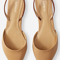 POINTED TOE SLINGBACK FLAT from EXPRESS