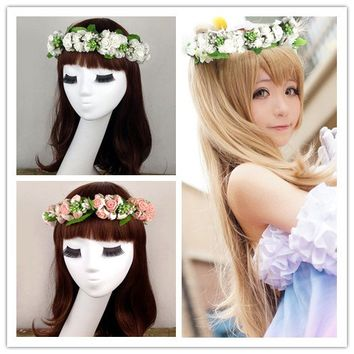 Cosplay Love Live Sweet Garland Hair Accessory SP153089