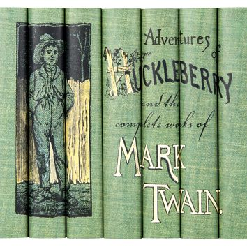 Mark Twain Huckleberry Book Set