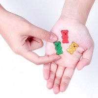 Tattoo Stickers: Gummy Bears (6 pcs)