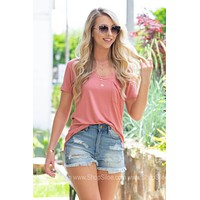 V-Neck Simple Fun Top