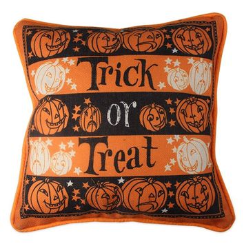 Trick or Treat Accent Pillow