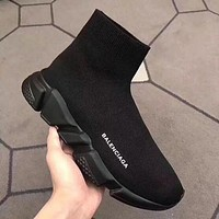 Balenciaga Fashion Woman Men Boots Comfortable Breathable Sneakers Running Socks Shoes I