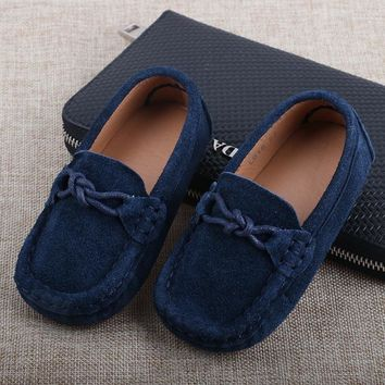 2017Spring new children flats kids leather shoes boys sneakers toddler baby boys shoes