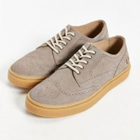 Fred Perry Davies Suede Sneaker- Grey
