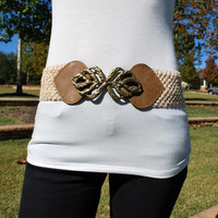 Crochet Accent Belt