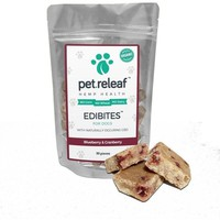 CBD Dog Treats – Hemp Oil Edibites with Blueberry & Cranberry