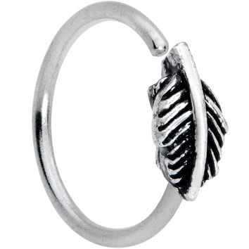 "20 Gauge 5/16"" Feather Seamless Circular Ring"