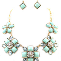 LIGHT MINT STATEMENT SET