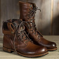 Fashion Men Women Boots Shoes Motorcycle Boots Knight Boots