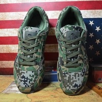 Men's Camo Sports Hiking Outdoor Trail Running Shoes