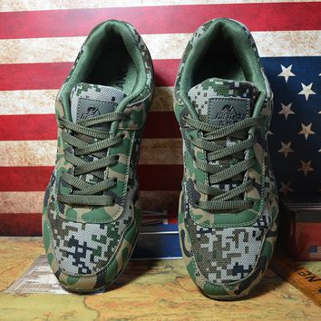 Military Army Style Camouflage Sports Shoes Comfortable Mountaineering Running Sneakers