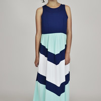 Melodic Ocean Arrows Mommy and Me Maxi Dress *Lil' Girl*
