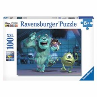 Sully, Mike & Boo Puzzle, 100 Pieces - Walmart.com