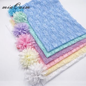 Soft Lace Wraps with Headband (Set of 6 Pieces!)