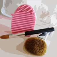 Cosmetic Makeup Brush Cleaner. Great Stocking Stuffer!