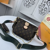 Kuyou Gb229925 Louis Vuitton Lv M44823 Monogram Canvas Handbag With Coin Purse