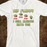 RIP Flappy I Will Always Hate You Flappy Bird T Shirt