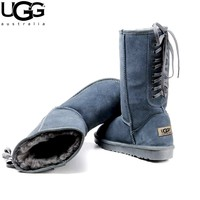 UGG lace-up women's boots snow boots high boots