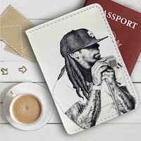 Lil Wayne Leather Passport Wallet Case Cover