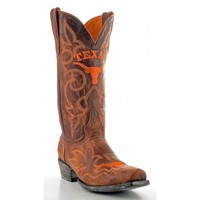 Gameday Boots Mens Leather University Of Texas Cowboy Boots