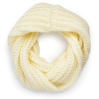 Chunky Knit Snood Scarf