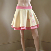 Custom Fluttershy My Little Pony Skirt Free Shipping