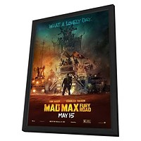 Mad Max: Fury Road 11x17 Framed Movie Poster (2015)