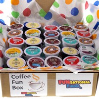 Coffee Fun Box: 30 K-Cups
