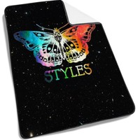 1D One Direction Harry Styles Tattoos Galaxy Blanket