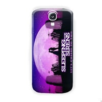 Sleeping With Sirens Cover For Samsung Galaxy S4 Case
